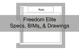 Freedom Elite Specs, BIMs, & Drawings