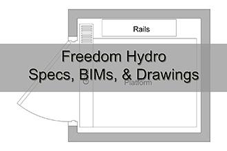 Freedom Hydro Specs, BIMs, & Drawings