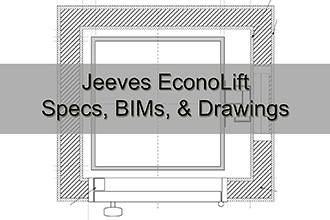 Jeeves EconoLift Specs, BIMs, & Drawings